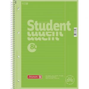 Collegeblock Student A4 Colour Code kiwi
