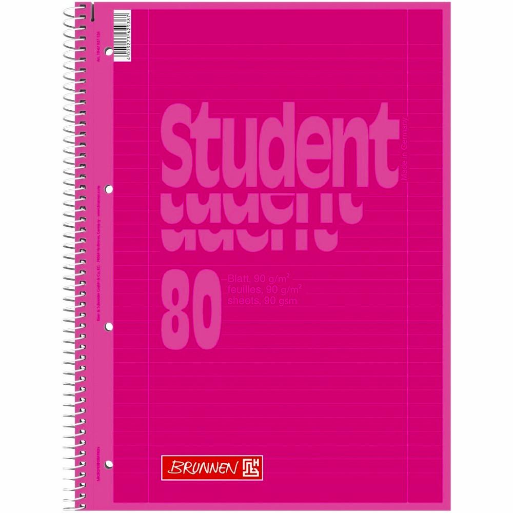 collegeblock brunnen pink