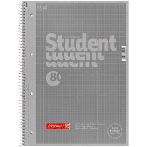 Collegeblock Student A4 Colour Code silver