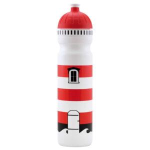 ISYbe Trinkflasche 1000 Leuchtturm