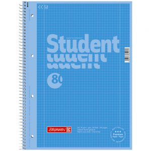 Collegeblock Student A4 Colour Code azur