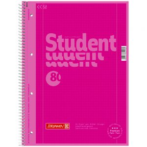 Collegeblock Student A4 Colour Code pink