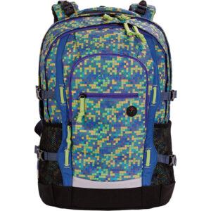 4You Schulrucksack Jump Pixel Smaragd
