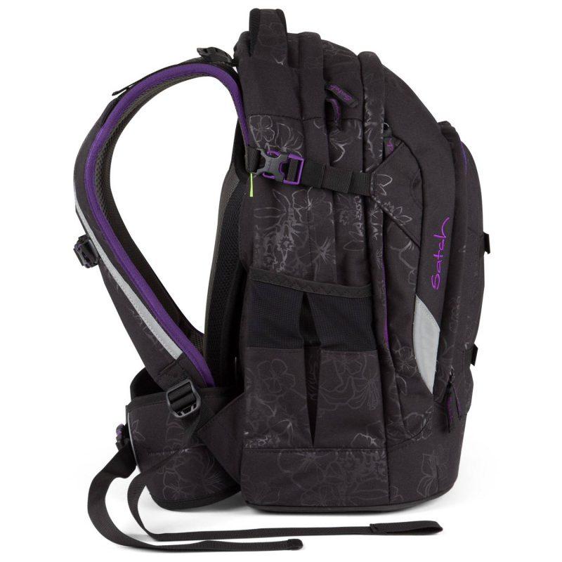 7af15771ce414 Schulrucksack Satch Pack Purple Hibiscus
