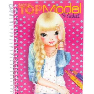 TOPModel Pocket Malbuch 3D