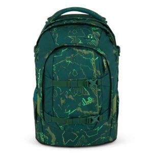 satch pack green compass
