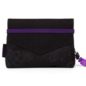 satch girlsbag purple hibiscus