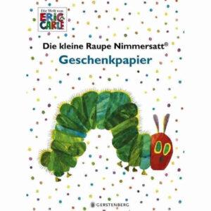 Raupe Nimmersatt Geschenkpapier