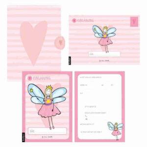 Einladungskarten Feen