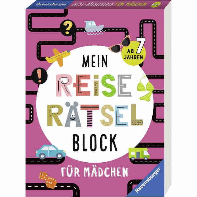 Raetselblock Maedchen