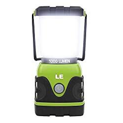 LE LED Campinglampe, Ultra Hell 1000 Lumen