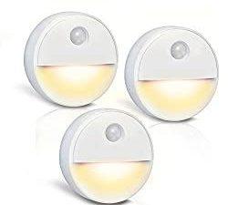 LED-Nachtlicht mit Bewegungsmelder, Batteriebetrieben