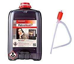 CAGO Petroleum Kanister, für eine saubere Verbrennung - 20l Liter mit Handpumpe